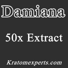 Damiana 50x Extract - 25 Gram - Starting at € 12,50 per 25 Gram